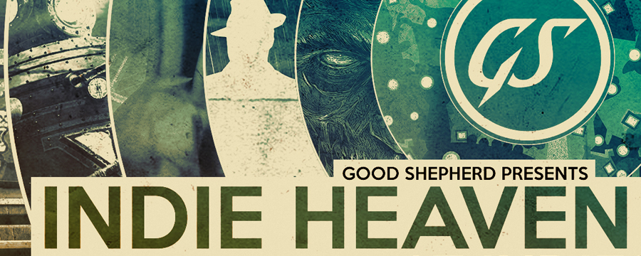 Indie Heaven Good Shepherd event announced as part of IndiE3.