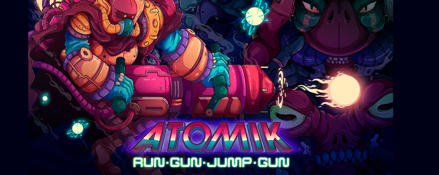 Atomik: RunGunJumpGun launches for Switch