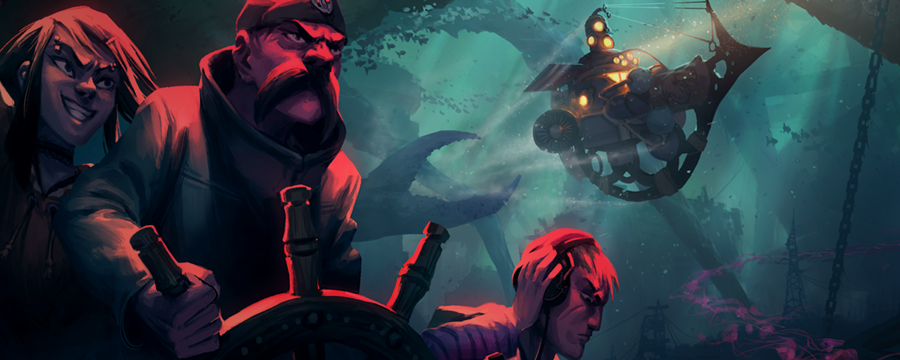 Diluvion is a Dark Souls-inspired underwater adventure