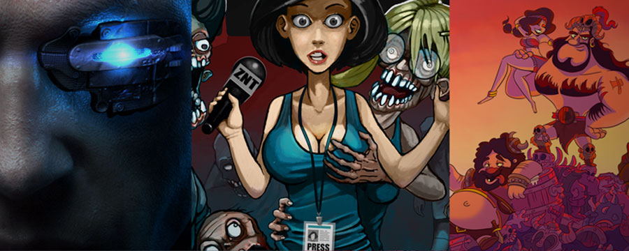 Gambitious Trailer Triple Feature – Zombie Night Terror, Crush Your Enemies, and Hard Reset Redux